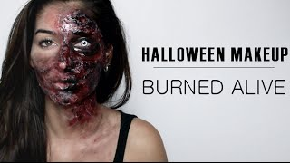 Lufy - BRULEE VIVE - Maquillage Halloween - Halloween makeup - BURNED ALIVE