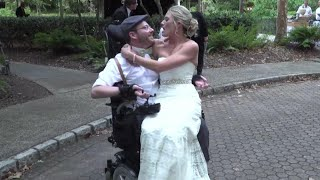 A Year Later, Groom Paralyzed During Bachelor Party Making Progress thumbnail