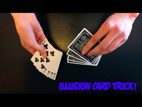 Very Cool Illusion Card Trick Performance And Tutorial!