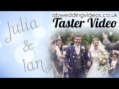 🎥abweddingvideos.co.uk | Julia & Ian's Wedding Day - Taster Video | Andy Bird Wedding Videos