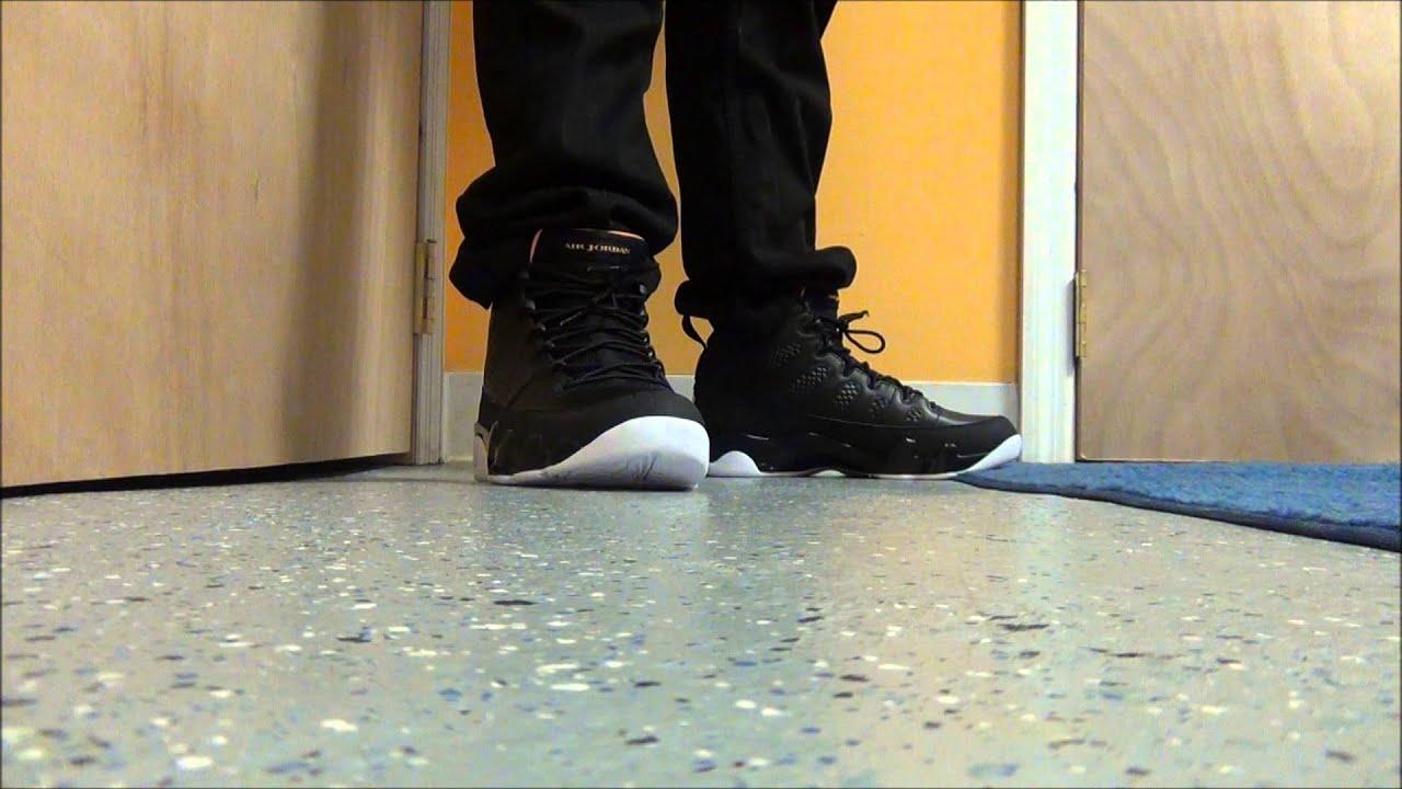Air Jordan 9 Cítricos En Los Pies