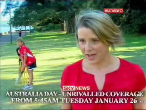 Keneally hits a six