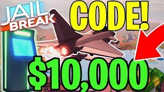 JAILBREAK NEW CODE (ROBLOX) 🔥 $10,000 CASH! JET MISSILES UPDATE! 24 HOURS ONLY!
