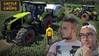 Cattle and Crops ✔ Realistyczne Bele !? Kolejne zaskoczenia ☆ Prasowanie & Zbieranie 2018