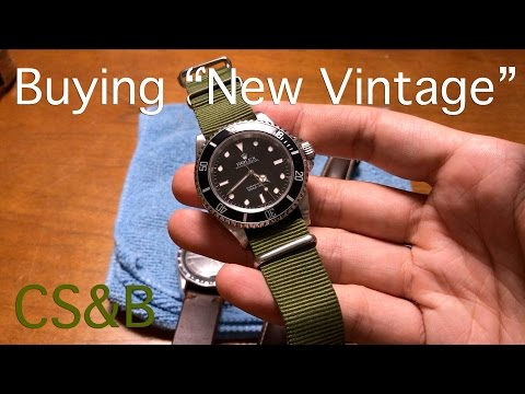"""Buying """"New Vintage"""" - Why the Rolex Submariner and Omega Speedmaster are Worthy Investments"""