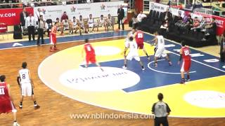 Hangtuah Sumsel IM v Stadium Jakarta (Speedy NBL Indonesia 2012-2013 Seri I Bandung)