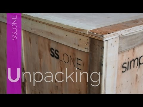 SS_ONE DENTAL UNIT - SIMPLE & SMART ITALIA - UNPACKING