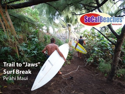 """The Trail to """"Jaws"""" Surf Break Pe"""