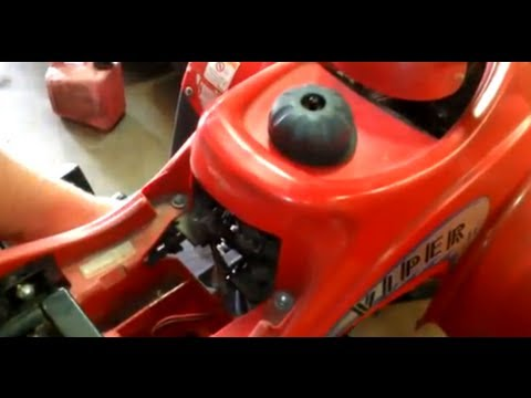 hqdefault 2003 eton viper jr 40cc atv motor installed and running youtube Eton Viper Jr Parts at mifinder.co