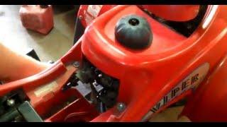 2003 Eton Viper Jr 40cc Atv - Motor Installed And Running