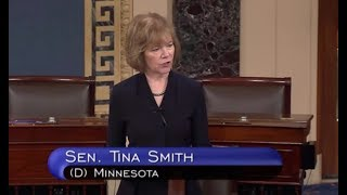 Sen Tina Smith Blasts Trump Supreme Court Nominee's Environmental Record
