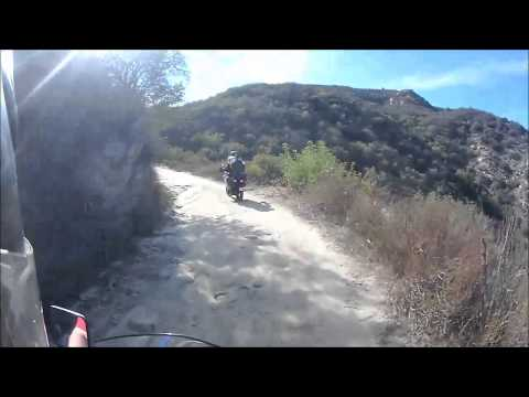 To Hells Kitchen From Lake Elsinore Dirt Path
