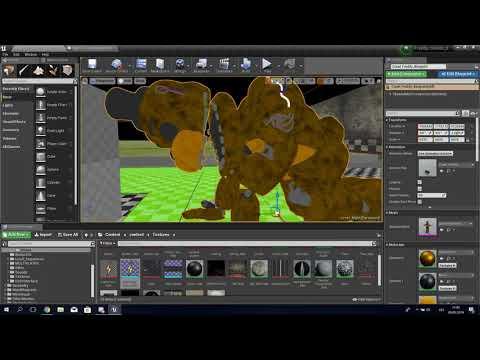 Unreal Engine 4 - FNaF game tutorial #9 - Full FNAF game showcase!