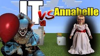 IT vs Annabelle | Minecraft PE thumbnail