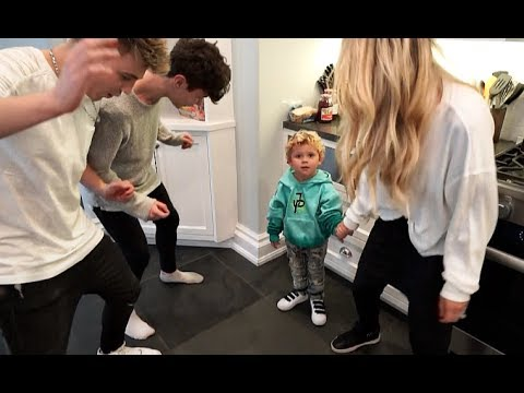 Mini Jake Paul LEARNS TO DANCE At The Team 10 House!!