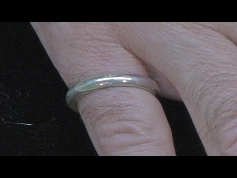 Make A Simple Silver Ring