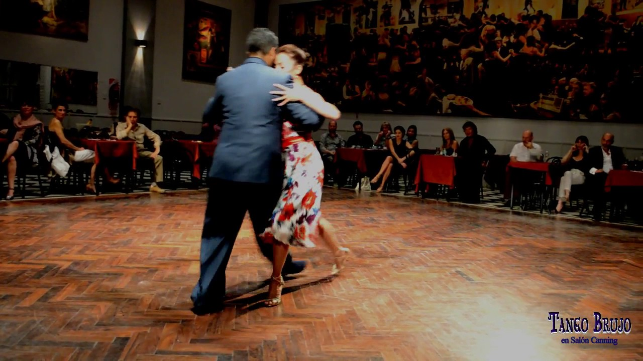 Andr s laza moreno luciana arregui en tango brujo for A puro tango salon canning