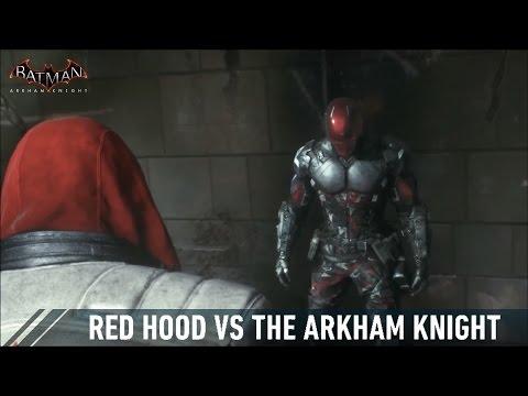 CHAR SWAPS; Batman; Arkham Knight; Red Hood Vs The Arkham Knight