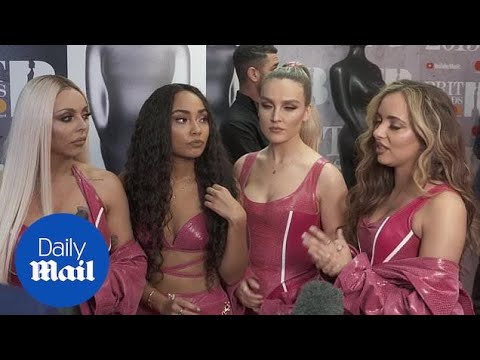 Little Mix, Dua Lipa and Calvin Harris speak after BRIT wins