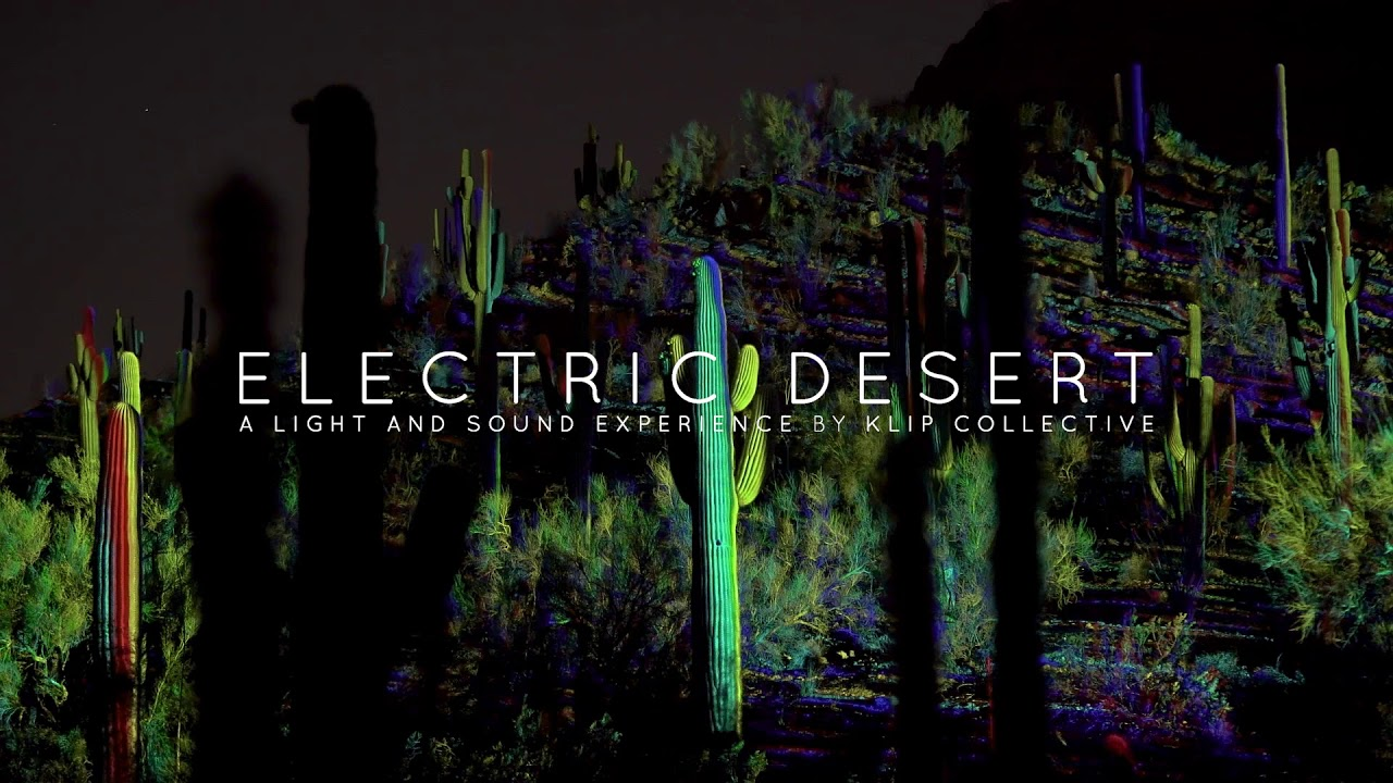 sneak peek electric desert at desert botanical garden - Desert Botanical Garden Phoenix