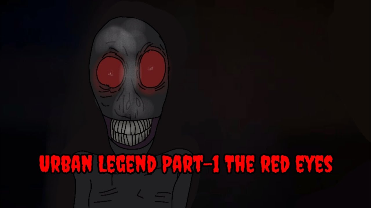Urban Legend Part-1 || The red eyes || Animated Horror Story In Hindi || Samarth Horror Stories