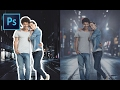 How To Retouch, Remove Background, Composite   Couple Photo Manipulation Photoshop Tutorial