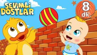 Yüksek Alçak ile 8 dk Sevimli Dostlar Bebek Şarkıları  Adisebaba TV Nursery Rhymes