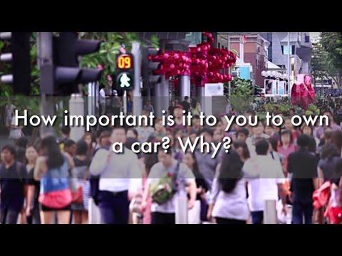 Car Ownership in Singapore | Street Talk | Happy-TV