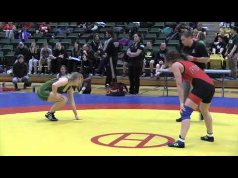 2016 Golden Bear Open: 55 kg Kate Richey vs. Sheina Fisher