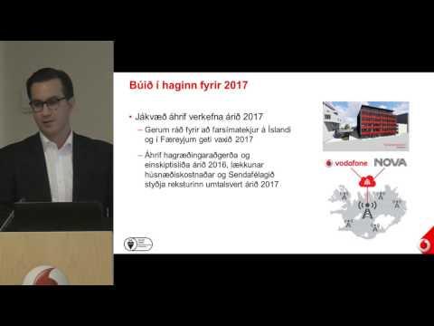 Uppgjör Fjarskipta hf. 3F 2016 - Upptaka frá kynningarfundi