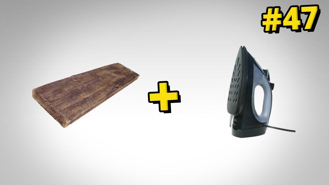 Jak usunąć wgniecenia z drewna