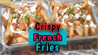 Crispy French Fries   How to make   Street Food Karachi Pakistan
