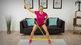 Training mit Theraband: Get in shape!