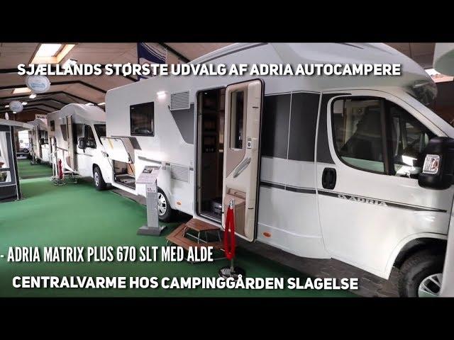 Adria Matrix Plus M670 SLT hos Campinggården Slagelse