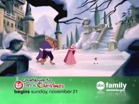 abc family countdown to 25 days of christmas youtube - 25 Days Of Christmas Abc Family