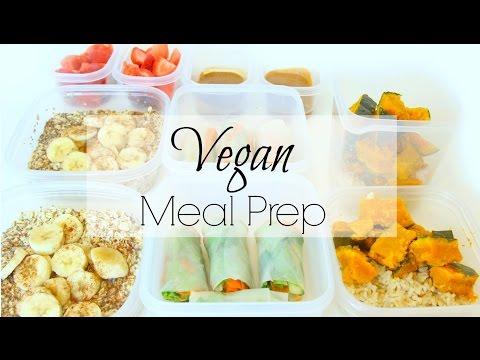VEGAN MEAL PREP |  Easy & Healthy