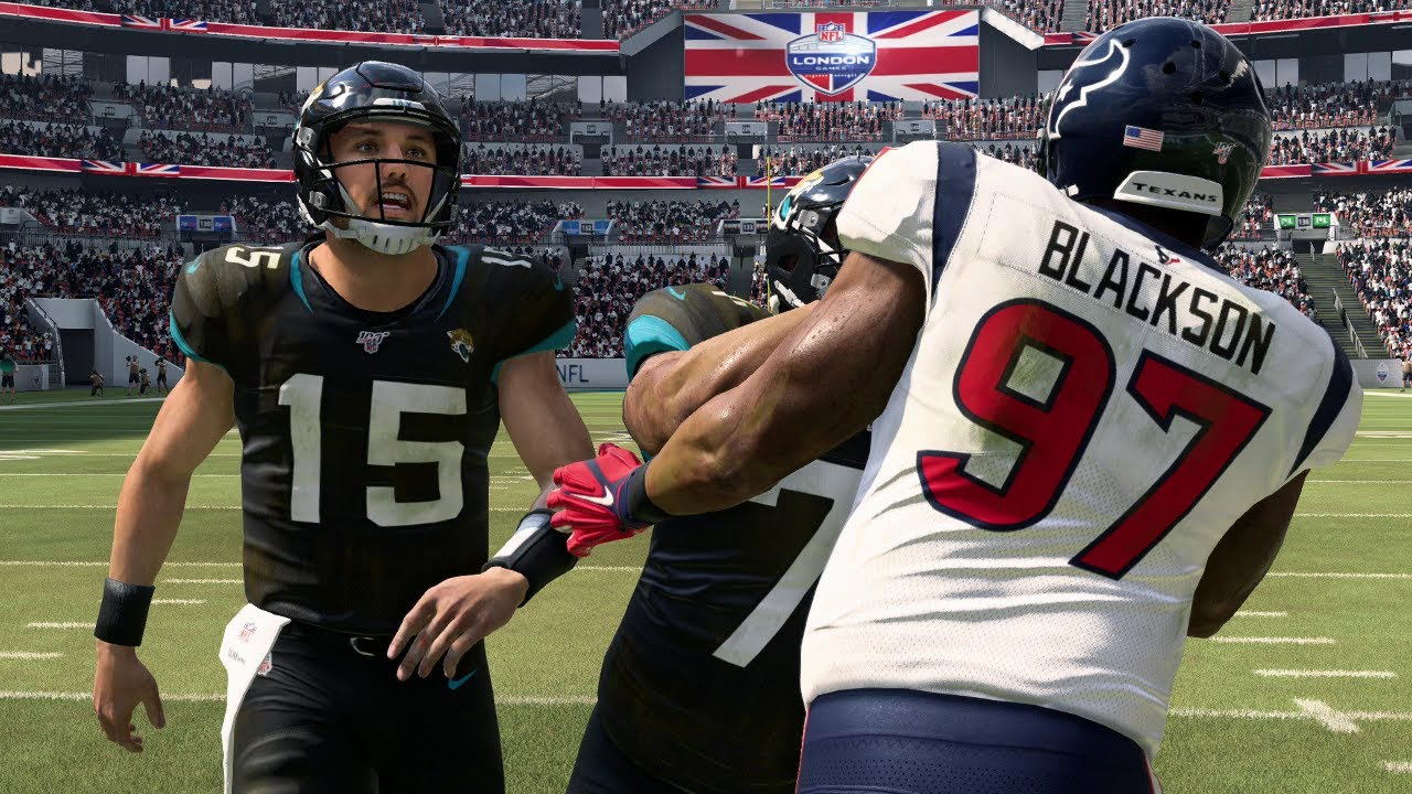 Nfl In London Jacksonville Jaguars Vs Houston Texans Week 9 Nfl 11 3 2019 Madden 20