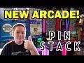 So Much FUN at the NEW Pinstack Arcade!