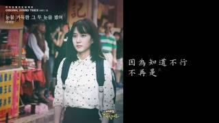 [韓劇][爸爸,我來伺候你OST] 비비안,BBAhn - 눈물 가득한 그 두 눈을 봤어 [아버님 제가 모실게요] OST Part 19 中字