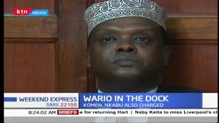 former sports cabinet secretary Wario denies embezzlement charges