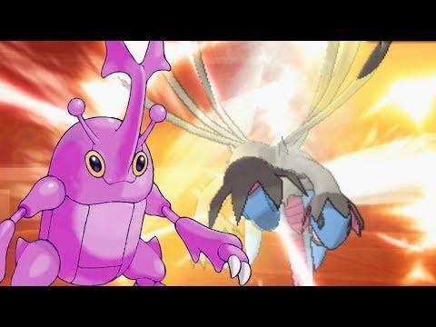 Purple Heracross | Pokemon Ultra Sun & Moon Wifi Battle