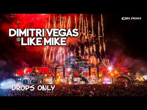 Dimitri Vegas & Like Mike [Drops Only] @ Tomorrowland Belgium 2016