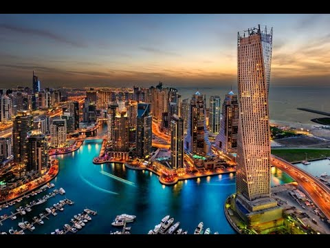 The Marina Walk - The Amazing Dubai ドバイマリーナ