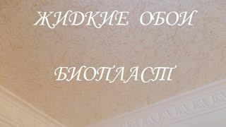 Ремонт  /  Прихожая  /  ЖИДКИЕ  ОБОИ  -  BIOPLAST  /  Нанесение жидких обоев на потолок(Ремонт / Прихожая / ЖИДКИЕ ОБОИ - BIOPLAST / Нанесение жидких обоев на потолок., 2016-06-19T13:29:35.000Z)