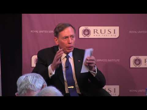 Current Global Security Challenges: A Conversation with General (Ret) David H. Petraeus