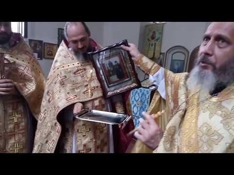 Мироточивая икона преподобного Гавриила (Ургебадзе)