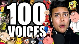 100 FUNNY IMPRESSIONS IN 10 MINUTES !!! thumbnail