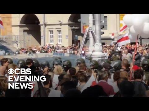 Protests Keep Pressure On Belarus President Lukashenko To Resign