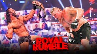 WWE Royal Rumble 2021 Winners, Results & Predictions | Brock Lesnar, Roman Reigns, Drew McIntyre