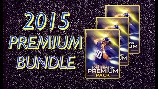Premium Now and Later Bundle Opening ! :- Madden Mobile Pack Opening